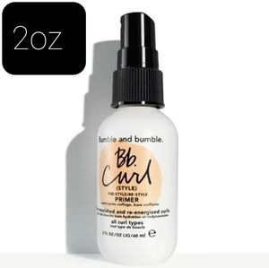 New Bumble and Bumble bb curl style primer 2oz
